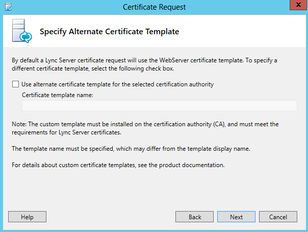 Deploy configure lync edge server part2 installation the lync dude in name and security settings page choose a friendly name for your certificate and select mark the certificate private key as exportable yadclub Images
